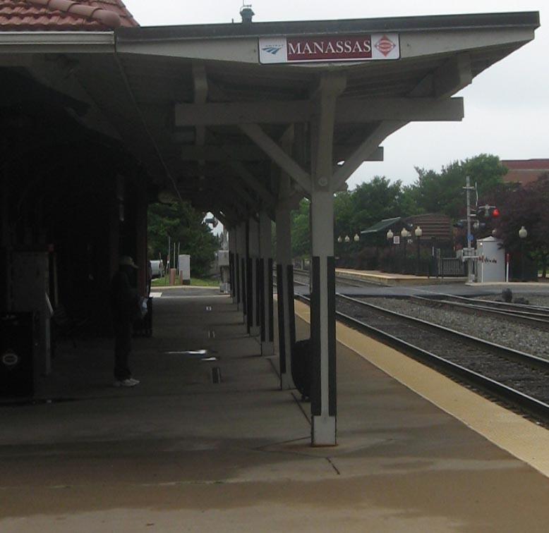 Amtrak Bahnhof (Foto Christian Schorno, Musikzimmer