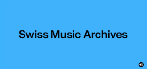 Swiss Music Archives Logo