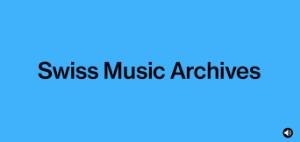 Swiss Music Archives Logo